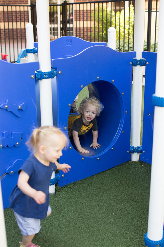 Preschool kids play area at Warm World
